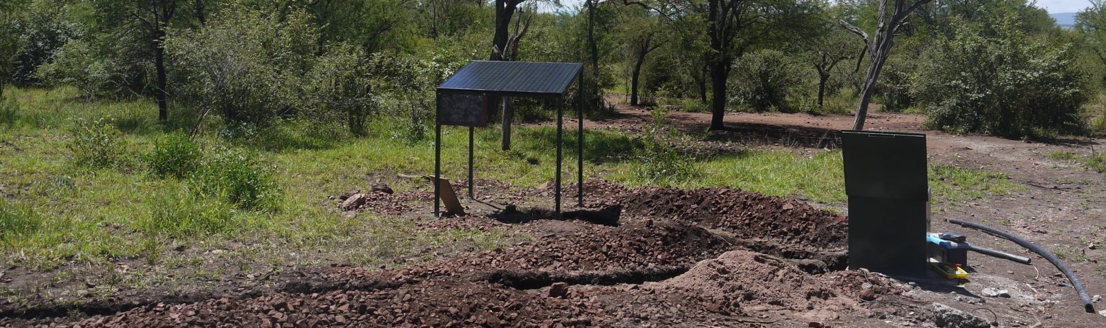 Image for submersible pumping systems for drinking water for animals Grumeti Reserves in Tanzania