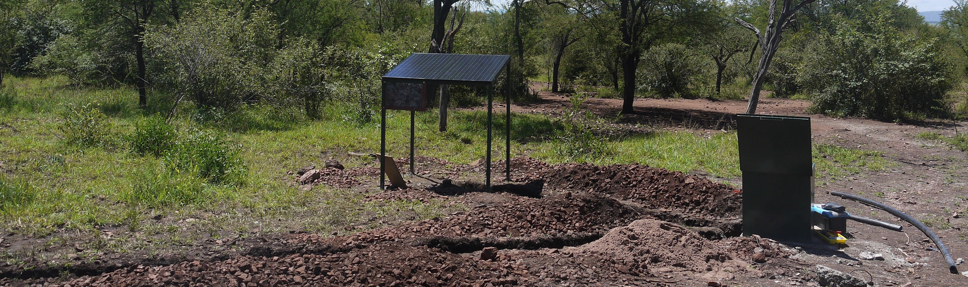 Submersible Pumping System for Drinking Water for Animals, Grumeti Reserves