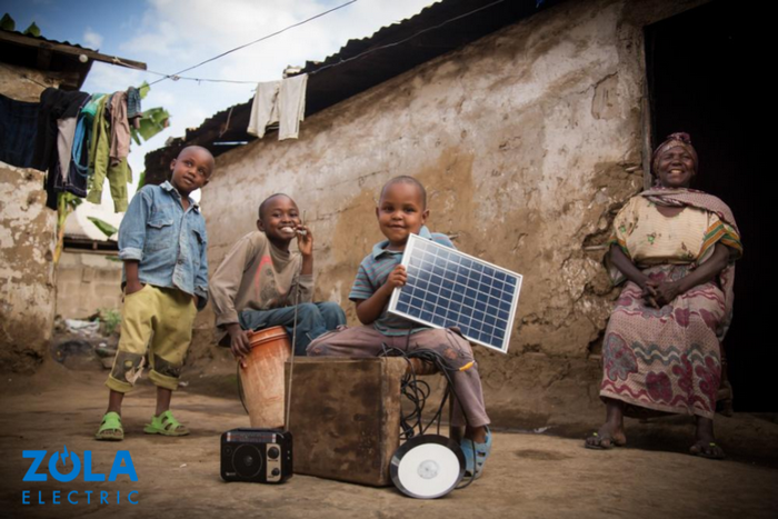 ZOLA electric solar panels Africa